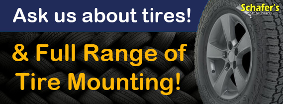 Ask us about tires