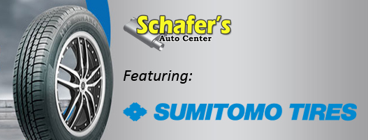 Sumitomo Tires by Schafer's Auto Center